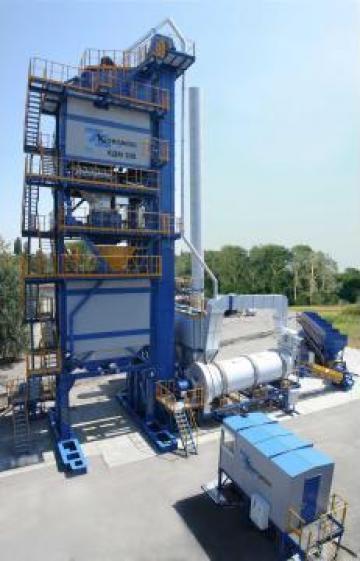 Statie mixturi asfaltice KDM - 208 de la Sc Vikos Impex Utilaje Srl