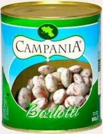 Conserva fasole boabe Barlotti - Campania de la S.c. Italin Gross Impex S.r.l.