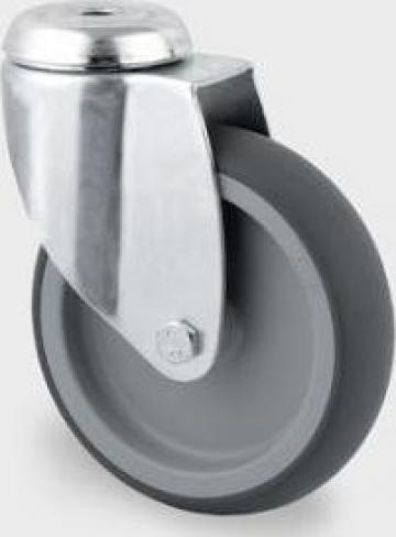 Roata pivotanta din polipropilena 100x32mm 2470PJO100P30-13 de la Orinev Industrial Solutions Srl.