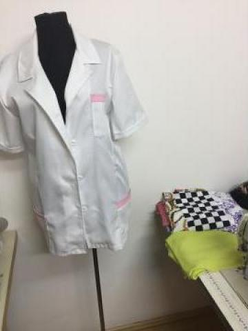 Bluza medicala cu nasturi de la Sc Atelier Blue Srl