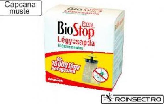 Capcana muste cu feromoni BioStop Farm de la Agan Trust Srl