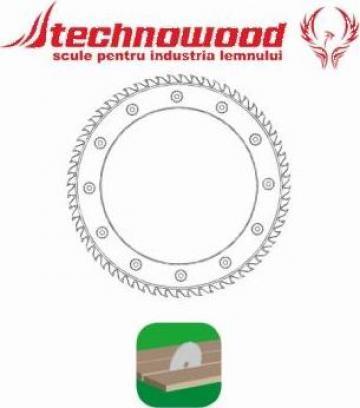 Panza circulara inel cu grosimea corpului variabila de la Technowood Srl