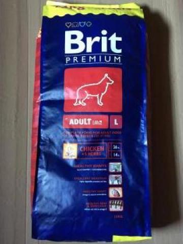 Hrana uscata caini Brit Premium de la Panthera Med