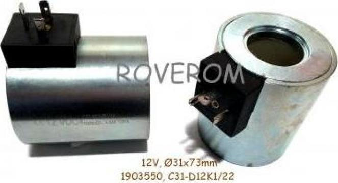 Bobina 12V, D31x72mm de la Roverom Srl