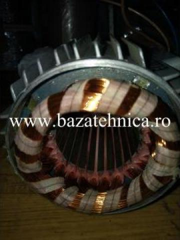 Rebobinare stator 0.75 kW de la Baza Tehnica Alfa Srl