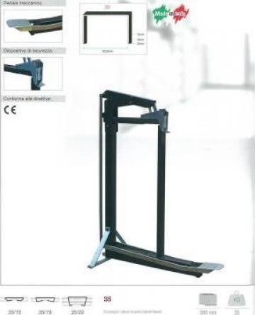 Capsator cu pedala de la Elettrograf Srl