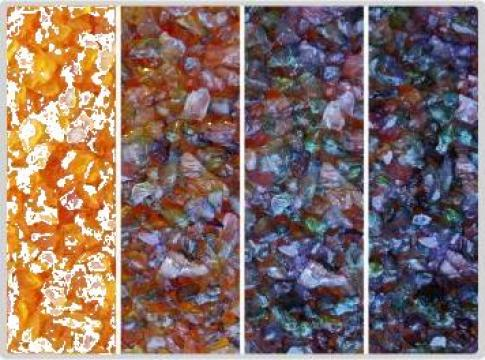 Silicagel granulat orange 4-10mm  - 5 kg