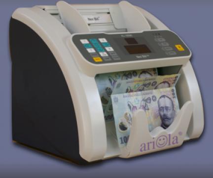 Masina numarat bancnote cu detectie Nexbill de la Ariola Prodcom Srl