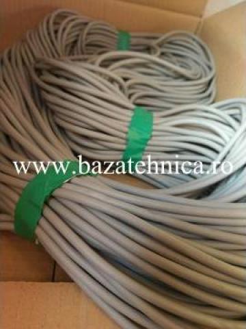 Snur cauciuc buretos, 15SH RALL 7001 O 5 mm de la Baza Tehnica Alfa Srl