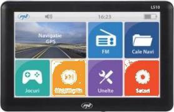Sistem navigatie GPS PNI L510 cu harti full Europa soft Igo de la Electro Supermax Srl