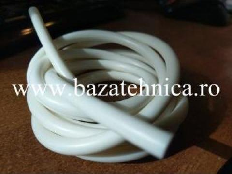 Snur o-ring 7 mm din cauciuc siliconic de la Baza Tehnica Alfa Srl