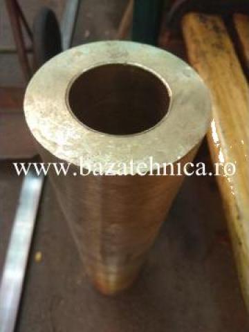 Bucsa bronz, aliaj CuSn12, fi 110 x fi 60 x lungime 500 mm de la Baza Tehnica Alfa Srl