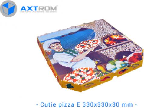 Cutii pizza 33 x 33 cm de la Axtrom