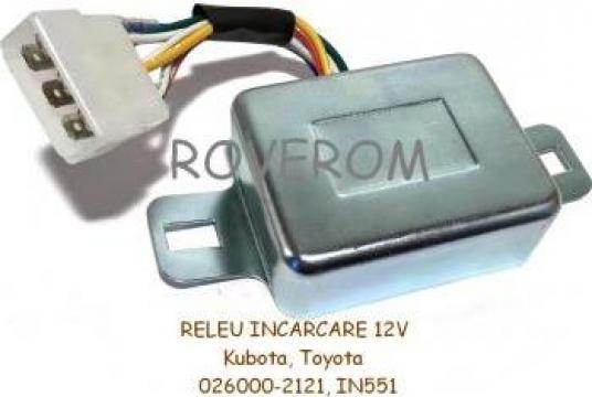 Releu incarcare Kubota, Yanmar, Toyota (12V)