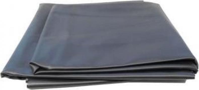 Folie PVC pentru amenajarea de lacuri Ubbink 6 x 4 m, negru