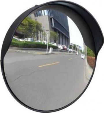 Oglinda rutiera plastic PC convexa de exterior 30 cm de la Vidaxl