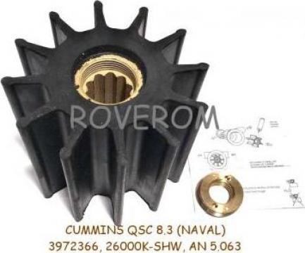 Rotor pompa apa Cummins QSC8.3 (naval), SH-26000K, 3972366