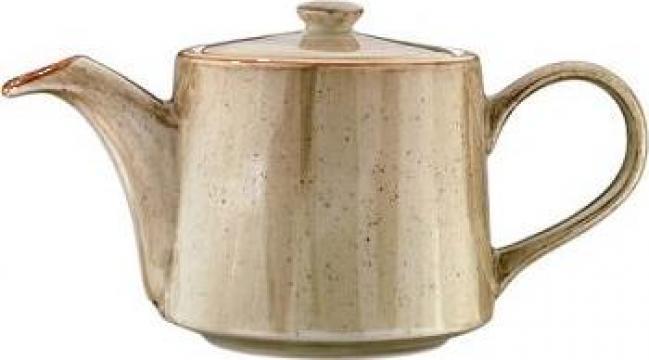 Ceainic din portelan Bonna colectia Terrain 400cc de la Basarom Com