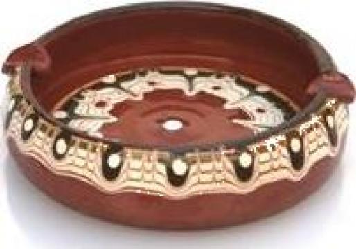 Scrumiera ceramica, lut 10cm de la Basarom Com
