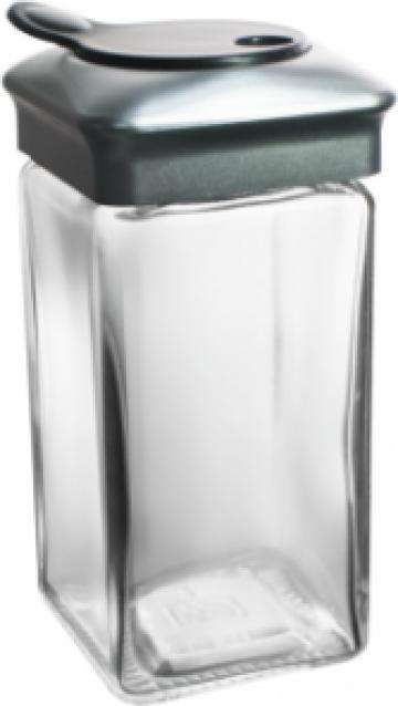 Recipient condimente EasyLife 110ml cu capac cromat