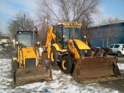 Inchiriere buldoexcavator cu picon pentru demolari de la Trans Udroiu Srl