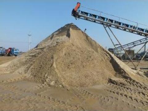 Nisip balast, pietris margaritar, piatra concasata de la Trans Udroiu Srl