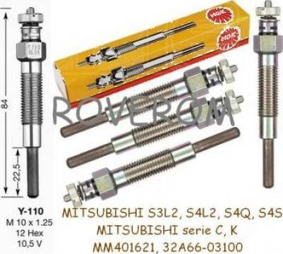 Bujii Mitsubishi S3L2, S4L2, S4Q, S4S, K3A, K3B, K3C