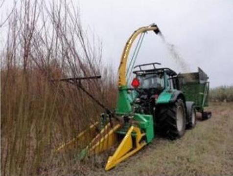 Masina de recoltat Salcie energetica Energy Harvester de la Metex Imp Srl.