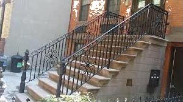 Balustrade scari exterioare de la Rollux Construct