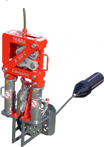 Utilaj de inlocuire tevi Terra-Extractor X 300