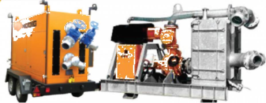 Pompe cu tocator pentru pomparea apelor uzate de la Imocon Srl