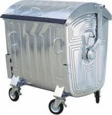 Container metal 1100 litri de la Sc City Park Srl