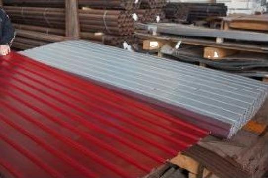 Tabla cutata H35 – 1100 zincata si vopsita de la Lio-Metal SRL
