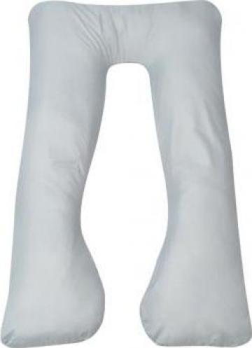 Perna de sarcina 90 x 145 cm, gri de la Vidaxl