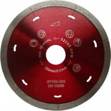Disc diamantat placi ceramice dure 125mm de la Criano Exim Srl