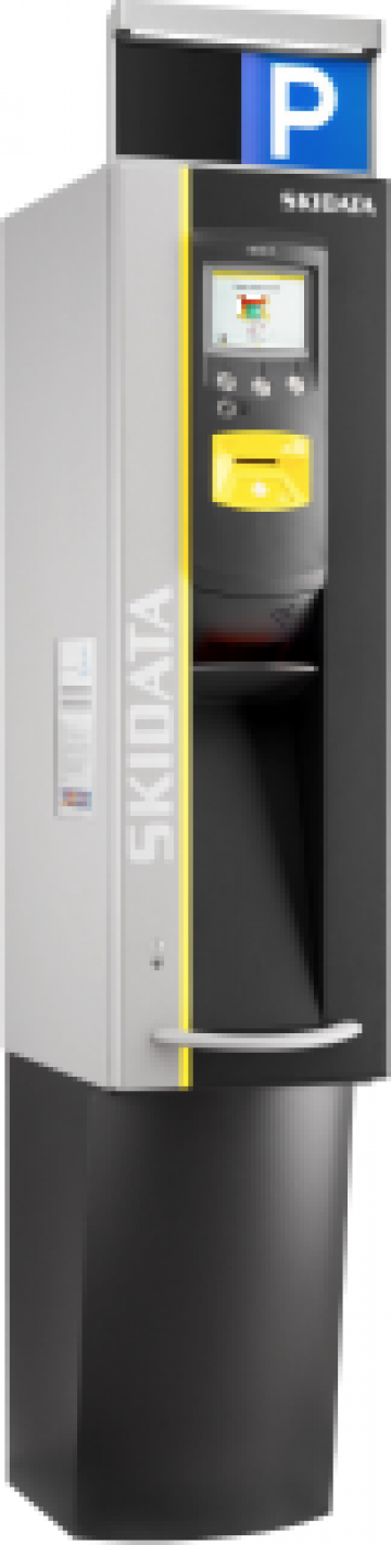 Automat de plata cu card de la Parking Experts Srl