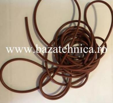 Snur o-ring cauciuc siliconic 6 mm x 10 m de la Baza Tehnica Alfa Srl