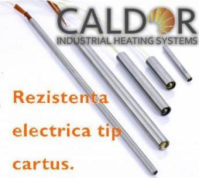 Rezistenta electrica cartus D10xL130x800W de la Caldor Industrial Heating Systems Srl
