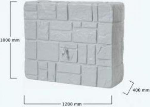 Rezervor de perete apa de ploaie Stone finish 300 litri de la Progreen Concept Ag SRL