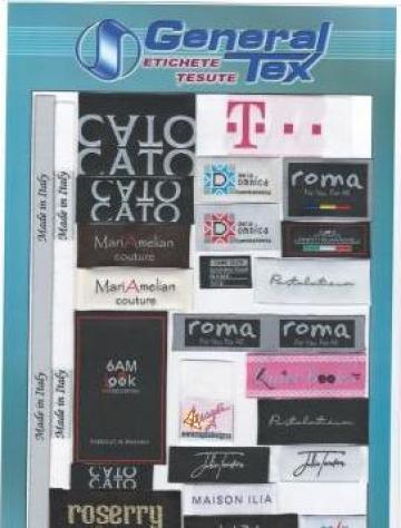 Etichete tesute adezive de la General-Tex S.r.l.