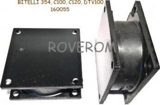 Tampon rola vibrocompactor Bitelli C100, C120, DTV100 de la Roverom Srl