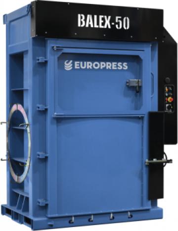 Presa de balotat deseuri Europress Balex 50 de la Filgreen Recycling