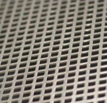 Tabla inox perforata cu perforatii patrate otel inoxidabil de la Eurometals Service Center Srl