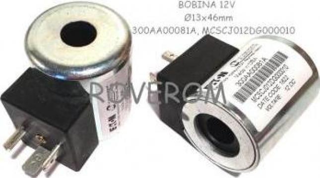 Bobina 12V, d13X46mm, electrovalva hidraulica