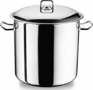 Oala adanca otel inoxidabil Perfect Gastro 22x22cm 8,5 litri de la Basarom Com