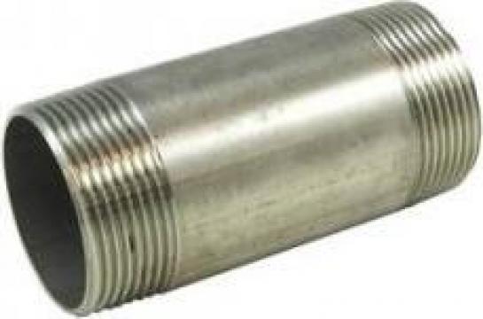 Nipluri duble BSP din inox 304/316 de la Electrotools