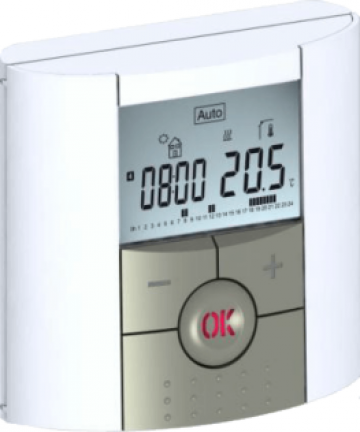 Termostat digital programabil de ambient, cu fir de la Sistema Comfort And Energy Saving