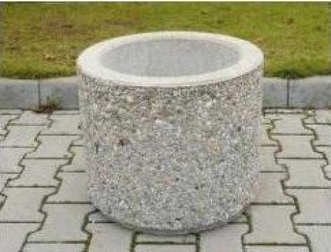 Jardiniera beton rotunda de la Electrofrane