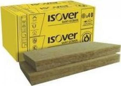 Vata bazaltica Isover PLU, grosime 100mm de la Vindem-ieftin.ro