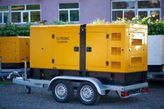 Inchiriere generator mobil 112kva de la Inchirieri Remorci Berceni
